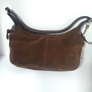 FREE SHIPPING - Vintage Fossil Suede Leather purse